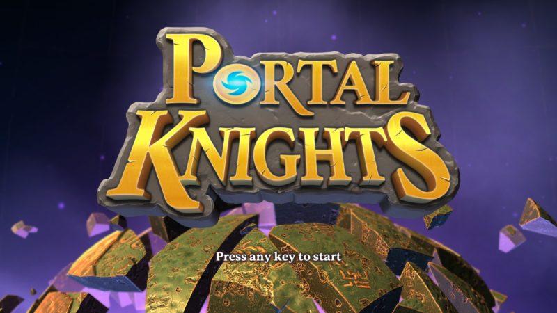 【Portal Knights】Steam版 ポータルがつなぐブロックの世界