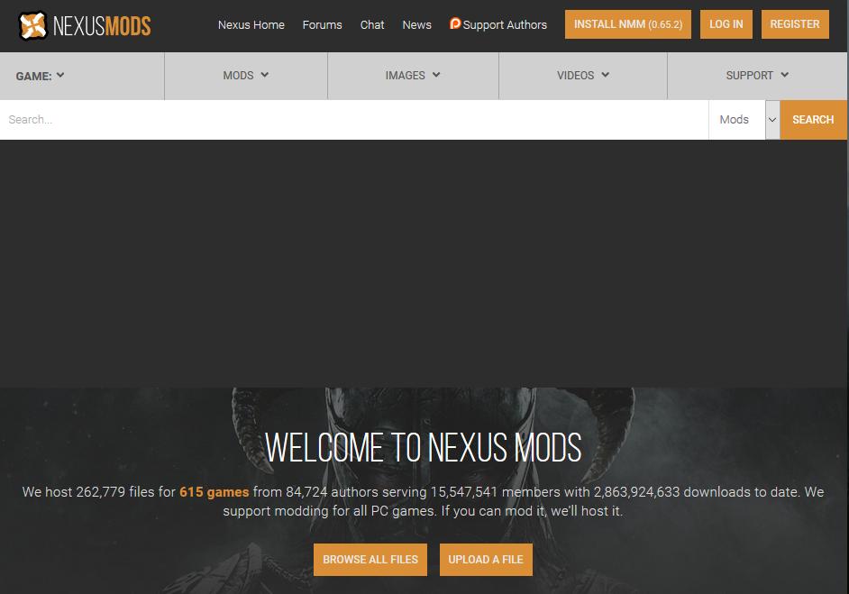 【Nexus Mod Manager】インストール手順【mod管理ツール】