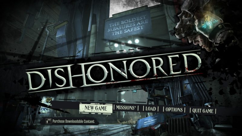 【Dishonored】Steam版 日本語化